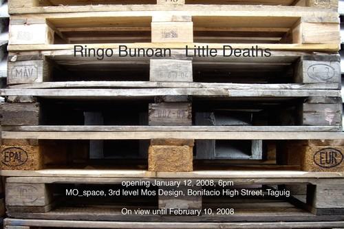Little Deaths — Exhibition Invitation