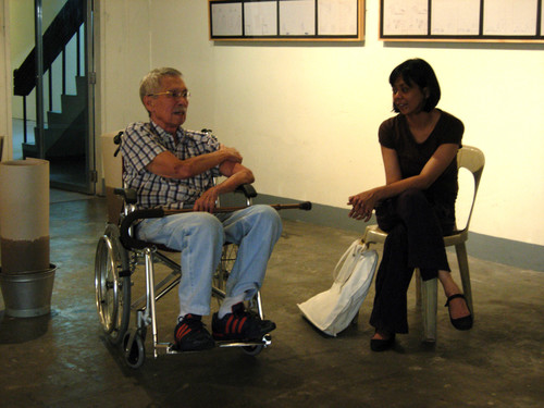 Roberto Chabet and Ringo Bunoan (Exhibition Preview)