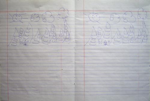 Sudden School (Work After Chabet #2) (Detail)