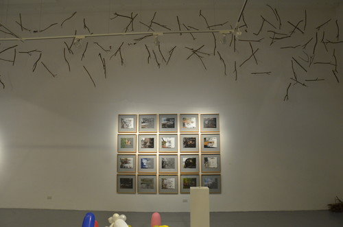Painted Photograph (1-20) (Exhibition View)