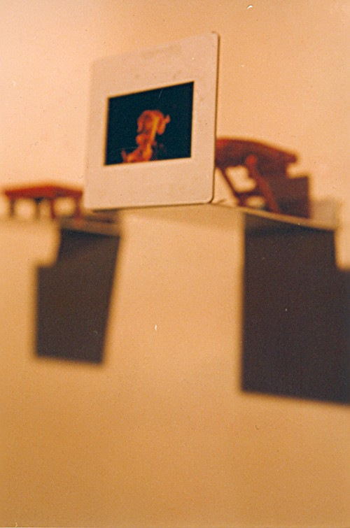 Detail of an Installation Presented at Lighting and Other Incidents