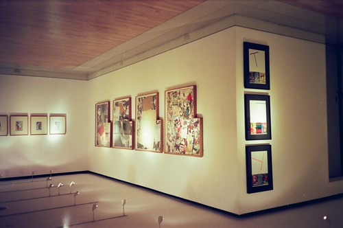 China Collages (Exhibition View)