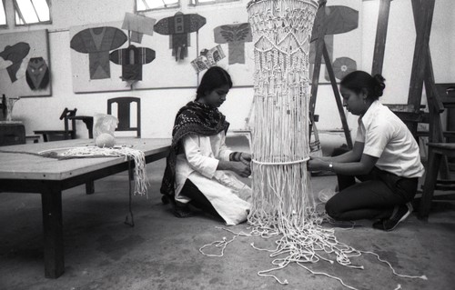 Preparation for the Fine Arts Fair, 1983
