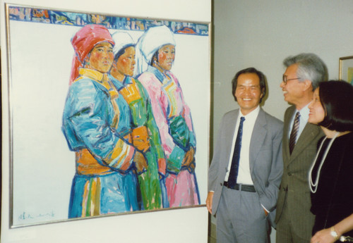 Contemporary Oil Paintings from the People's Republic of China (Exhibition Opening)