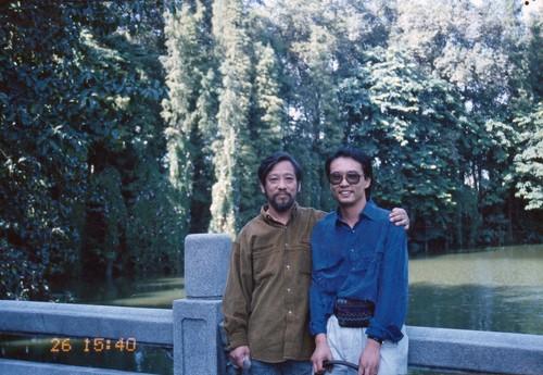 Li Xianting and Zhang Xiaogang, 1992