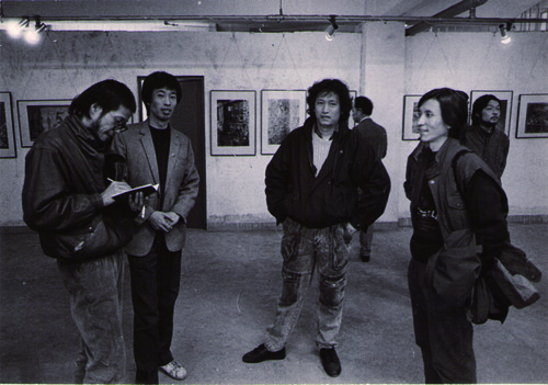 Ni Haifeng, Hu Jianping, and Sun Liang at 'Garage Show'