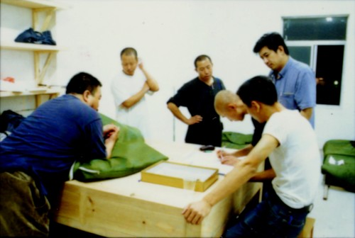 Artists in Preparation of 'Fuck Off'