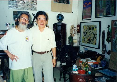 Portrait of Vu Dan Tan and Nguyen Hong Xuong