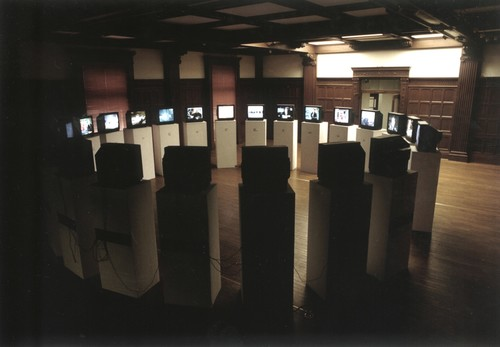 Broadcast at the Same Time (Exhibition View)