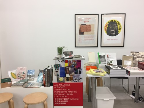 Image: AAA's booth at <i>Booked</i>, January 2020.