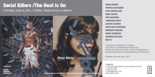 Serial Killers / The Heat is On — Flyer