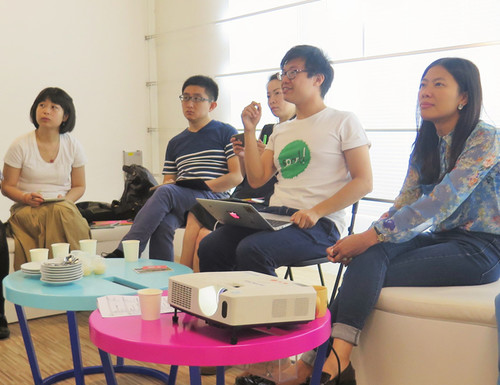 Image: Art Education Network Roundtable in Shanghai, 2015.