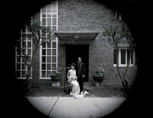 Rongrong & inri, Three Shadows, Beijing, 2006. No.2-1, 2006, Gelatin silver print, Edition of 8, 132 x 132 cm. Images courtesy of the artists and Blindspot Gallery