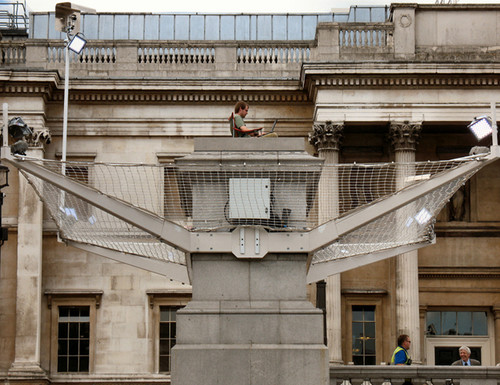 Antony Gormley, One and Other, 2009.