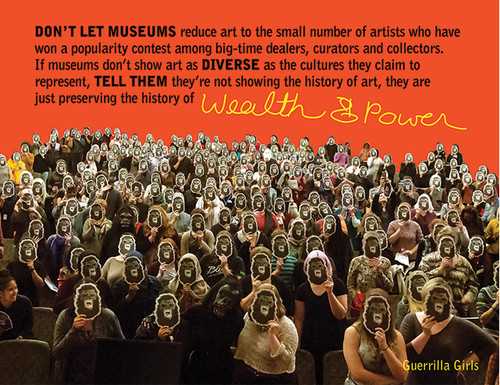 Image: Guerrilla Girls, <i>Wealth and Power</i>.