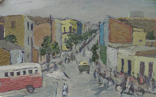 Image: Painting by Cheng Li, circa 1970s. Courtesy of Cheng Li.