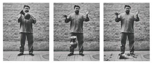 Image: Ai Weiwei, <i>Dropping a Han Dynasty Urn</i>, 1995.