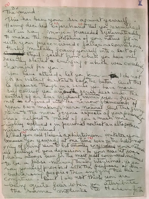 Image: Emily Hui's markup of Sher-Gil's Letter (3 of 3).