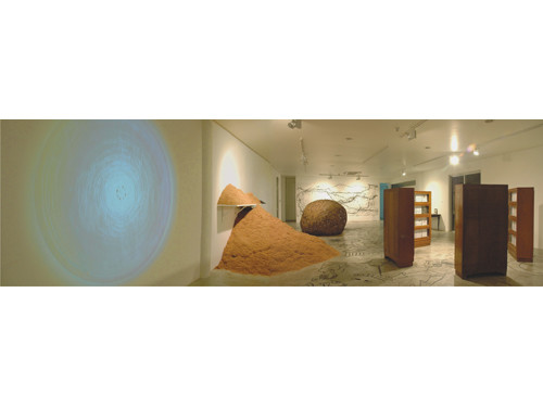 Image: View of exhibition <i>Untitled (Other Drawings)</i>, 2008.