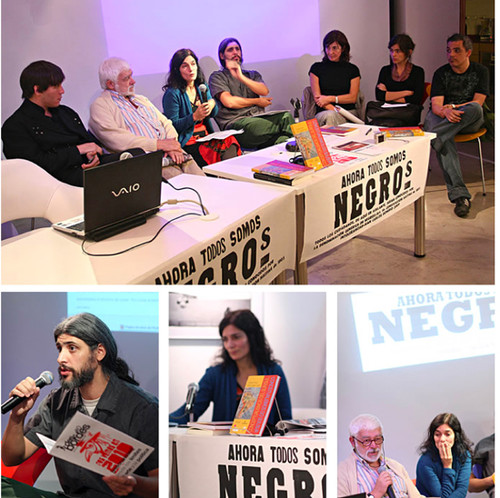 圖片:Ana Longoni和 Cristina Freire合編的《南方的概念主義》。2009年在布宜諾斯艾利斯的西班牙文化中心舉行新書發佈會。(照片由該中心提供)