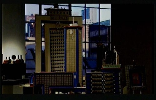 Installation view, 'Hong Kong, etc.', film still, 1997.*
