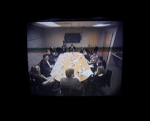 Image: Screening of <i>The Armory Show Focus Group</i>, 2013.