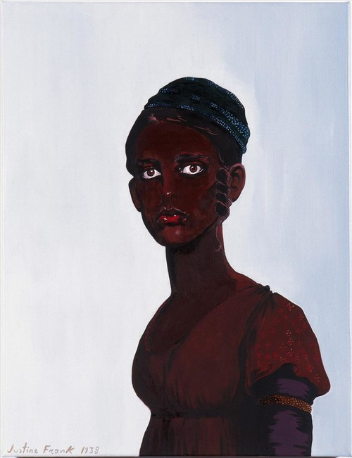 Untitled (Self-Portrait as A Black Woman), 1938, Oil on Canvas, 65X50cm