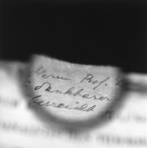 Image: Tomoko Yoneda, <i>Freud's Glasses - Viewing a Text by Jung I</i>, 1998.