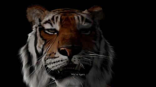Image: Ho Tzu Nyen, <i>2 or 3 Tigers</i> (still), 2015.
