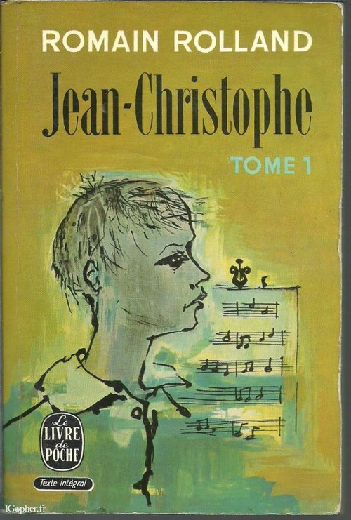 Image: Cover of <i>Jean-Christophe</i> by Romain Rolland.