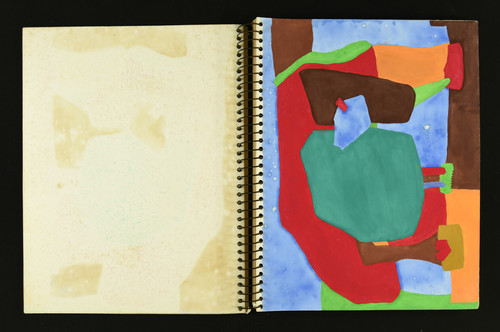Image: Lee Wen, sketchbook, 1978. Courtesy of the artist's estate.