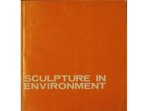 Sculpture in Environment (catalogue cover)