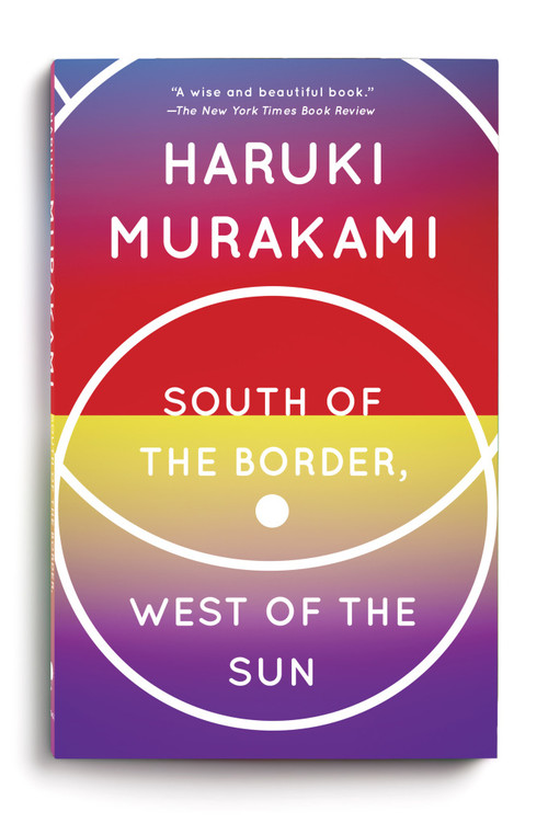 Image: Cover of <i>South of the Border, West of the Sun</i> by Haruki Murakami.
