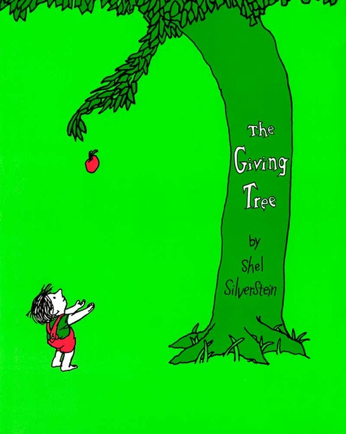 Image: Cover of <i>The Giving Tree</i> by Shel Silverstein.