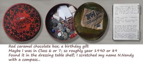 Image: An example of a shoebox museum. Courtesy of Nilanjana Nandy.