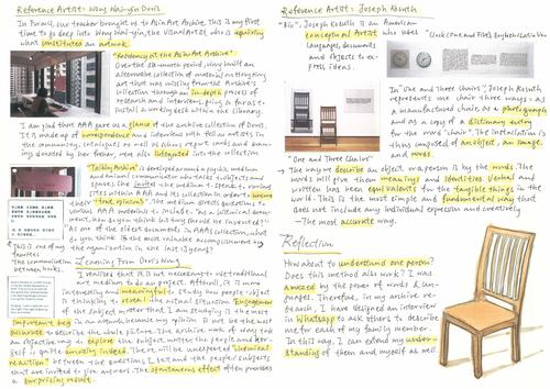 Image: excerpt of SBA portfolio.