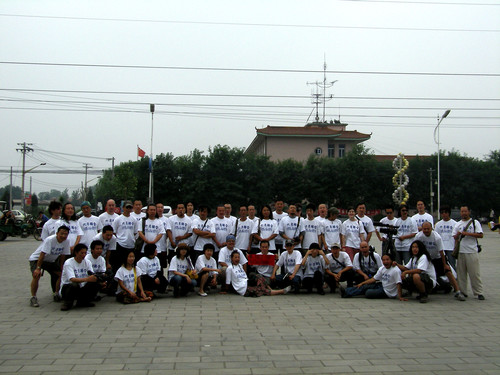Group Photo of Artists of 'June Alliance' (2 Photos)