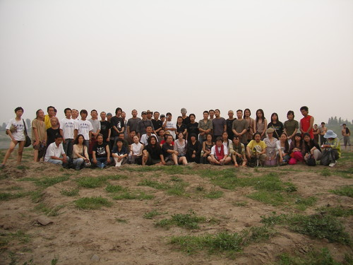 Group Photo of Artists of 'June Alliance'
