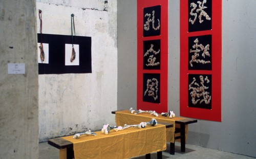 Work by Huang Yan (Exhibition View)