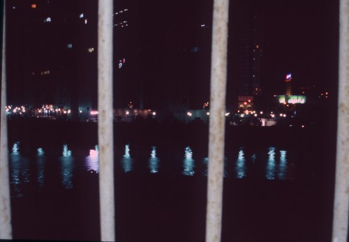 Evening View of Suzhou Creek As Seen from the Exhibition Venue of 'Fuck Off'