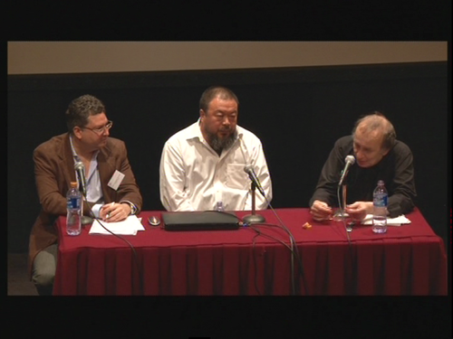 Vito Acconci + Ai Weiwei: Artists in Conversation