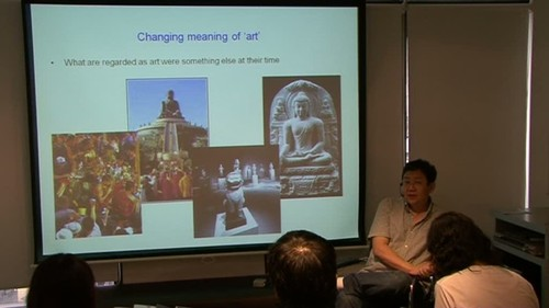 Art Appreciation and Criticism Talk Series: Methodology for Looking at Contemporary Art