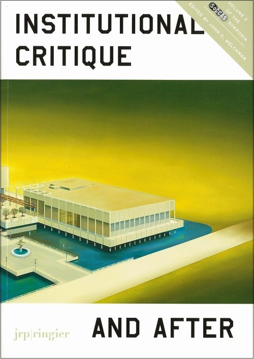 james meyer essay whatever happened to institutional critique
