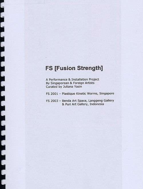 FS [Fusion Strength]: A Performance & Installation Project by Singaporean & Foreign Artists