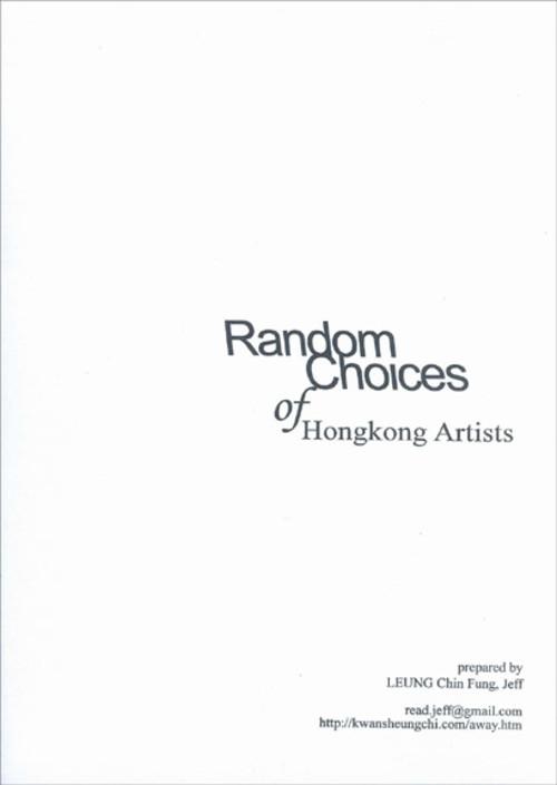 Random Choices of Hong Kong Artists