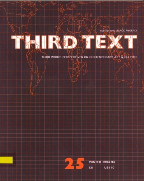 Third Text: Critical Perspectives on Contemporary Art & Culture (All holdings in AAA)