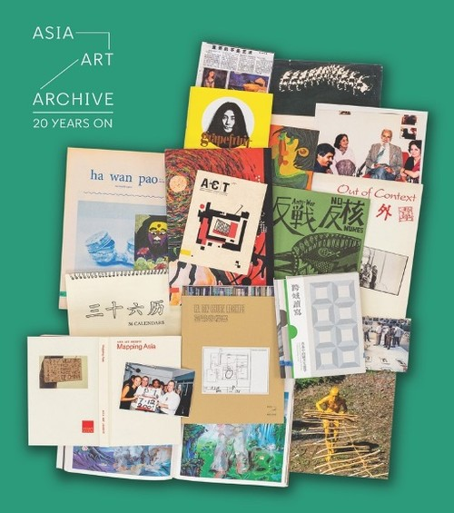 The materials shown on the image are from AAA's Collections and were all selected by the AAA team. This selection illustrates some key projects throughout AAA's history and major changes in Asia's contemporary art scene over the past twenty years in relation to our content priorities.