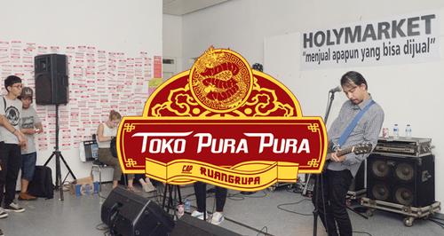 Image: Toko Pura-Pura (Quasi-shop), ruangrupa, 26–27 Aug, 2016.