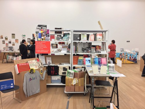 Image: AAA's booth at <i>Booked</i>, January 2019.