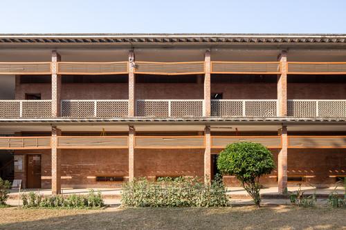 Image: Muzharul Islam, College of Arts and Crafts, Dhaka. Photo: Randhir Singh.